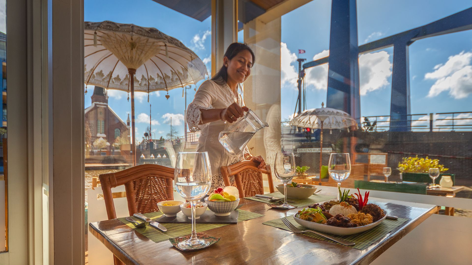 Indonesisch restaurant Alphen aan den Rijn